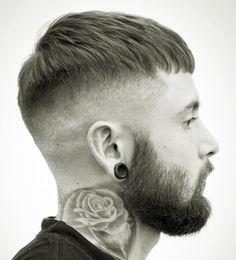 Dread Hairstyles, Hairstyles Haircuts, Haircuts For Men, Short Hair Lengths, Short Hair Cuts, Short Hair Styles, Crop Haircut, Beard Haircut, Hair And Beard Styles