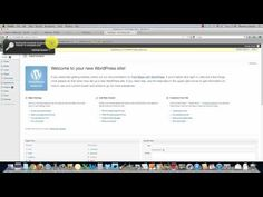 WordPress Install Tutorial For Beginners.   In this WordPress tutorial Matthew will instruct you how to quickly install a new copy of WordPress onto cPanel  http://widgetcase.com/wordpress-install-tutorial-for-beginners/