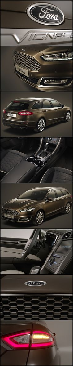 I say is that a Vignale? I say is that a Ford Mondeo?  The Mondeo Vignale from Ford's New Luxury Range. The Ford Vignale Mondeo is the ultimate expression of Ford's award winning design in combination with a new way of owning a Ford.  Vignale was an Italian Coach building Company in years gone by. The business was transferred to Ford in 1973. This relaunch of the Vignale name is an exciting step forward in the renaissance of the Ford brand worldwide.  #Ford #Mondeo #Vignale #Luxurycar