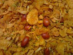 Spicy Cornflakes Mixture Namkeen, Premium Quality 250 Grams