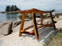 Wine barrel stave bench. by VeronaWineandDesign on Etsy