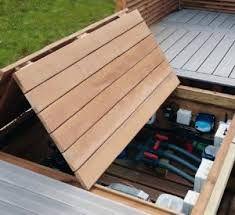 """Résultat de recherche d'images pour """"fabriquer escalier piscine bois"""""""