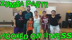Another great #ZUMBA party at #HOOKEDONFITNESS this morning! Look at those smiles... Another shot from #HookedOnFitness