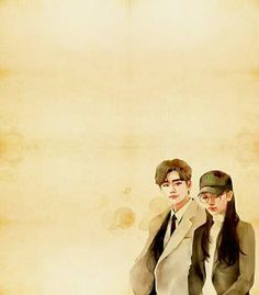 While you were sleeping Chestnut Cute Couple Art, Anime Love Couple, Kdrama, Lee Jong Suk, Baby Popo, Chibi, Korean Drama Quotes, Korean Painting, W Two Worlds
