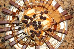 ~KIT KAT Nachos! – Oh Bite It Dessert Nachos, Following A Recipe, Snacks, Kit, Desserts, Recipes, Tailgate Desserts, Appetizers, Deserts