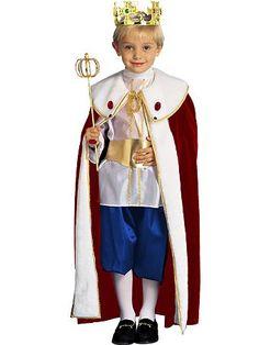 Ideas for Jonahs King Costume