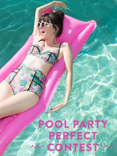 Share your perfect pool party with us for a chance at a $100 GC! Entering is easy: Create a board to show us the pool party of your dreams, fill it with #DIY, recipe, cocktail, & outfit inspo as well as at least 3 of your fave ModCloth products, repin this image there, and when you're done, send it over to PoolPartyPerfect@modcloth.com. Contest ends May 27th... click through for more details!