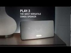 SONOS REVIEW - PLAY:3 Wireless Speaker for Streaming Music (Small) - White    The most versatile wireless speaker for rich, room-filling sound.