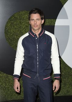 Pin for Later: Les Personnalités les Plus Sexy du Moment Se Sont Rendues à la Soirée GQ Men of the Year James Marsden