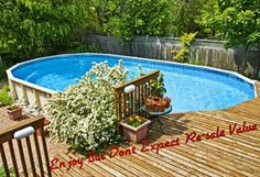 Above Ground Swimming Pool Hurts Resale Value of #Realestate  http://www.maxrealestateexposure.com/home-improvement-mistakes-impact-real-estate-value/