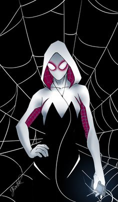 Gwen Stacy as Spider-Woman - Jake Bartok