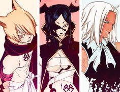 Jackal, Minerva, and Tempester