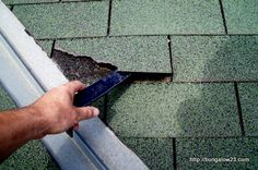 Basic roofing repairs! I'm going to show Sintell this!