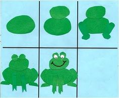 Reptiles & Amphibians - Preschool Theme: great art lesson - How to make a frog