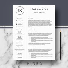 Need To Make A Resume Word Nurse Resume Template For Word Doctor Resume Template  Nurse Cv  How To Make A Good Resume For A Job Pdf with Pizza Delivery Resume Pdf Professional  Modern Resume Template For Word Sophia   Editable   Instant Resume Language Skills