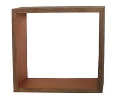 Large Shadowbox Shelf. Hang on your wall, or sit on a shelf, this shadowbox will add a touch of color and perfectly frame your special items.