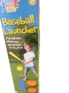 BASEBALL LAUNCHER CHILDREN'S OUTDOOR SUMMER GARDEN TOY GAMES