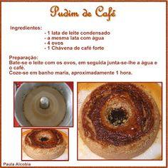 Kikinho Cake & Cook: Pudim de Café