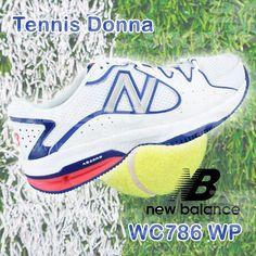 #Tennis Donna: #NewBalance WC786 WP