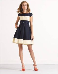 Bestselling long lasting Hair Removal cream http://www.healthyoptins.com/Hair-Removal.html striped adette dress Kate Spade. Worn by Zooey Deschanel in New Girl
