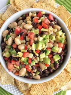 No party is complete without this addictive, super simple, and delicious game day dip! Full of beans, corn, avocado, red onion, tomatoes, and a surprise ingredient… Italian salad dressing. If you've read my blog for any amount of time you probably know that I love me a good football game complete with lots of yummy …