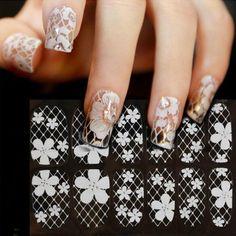 [Visit to Buy] 1 Pc Rectangle Stamping Template Paisley Bandanna Pattern Nail Art Image Plate L020 #Advertisement