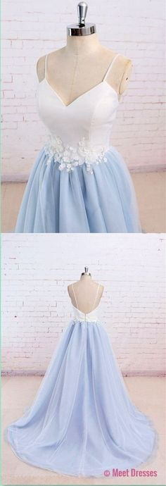 Spaghetti Straps Sweet 16 Party Prom Dress,Long Prom Dresses,Prom Dresses,Evening Dress, Prom Gowns, Formal Women Dress,prom dress PD20189772