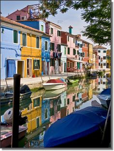 Beautiful photo of Burano, Venice by Paolo Luigi Germano