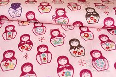 matryoshka fabric - black one for tattoo with Alberta roses?