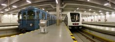 LoviGabi: M4 tesztfutas Alstom 20121129-14, Budapest