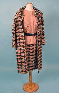 Chanel Couture 3-Piece Set, 1965