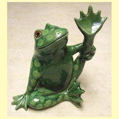 Jen Robinson - ceramic frogs & toads