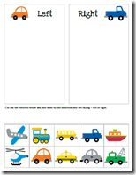 Left and Right and great theme for BOYS- site has entore transportation theme- LOVE IT