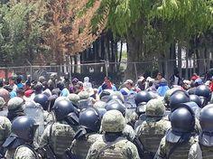 En Palmar protestan por operativos de la Sedena