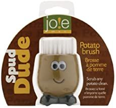 Clean your potatoes in a jiffy with this cool Spud Dude Potato brush, truly a potato oustanding in his field! Use this potato-shaped brush to scrub potatoes before boiling or baking. Also a great brush for cleaning any fruit or vegetable. Red Skin Potatoes Recipe, Roasted Red Skin Potatoes, Sliced Potatoes, Potato Vegetable, Carrot Vegetable, Cheesy Potatoes, Gadgets And Gizmos, Potato Casserole, How To Make Cheese
