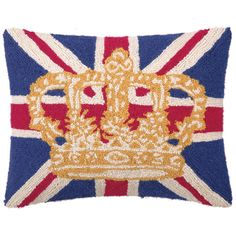 Coronation Pillow a Def for Living room!