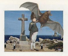 Collage de Jacques PREVERT Omonville la petite (Manche) Basse-Normandie FRANCE