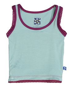Look at this Jade & Melody Solid Undershirt Tank - Infant, Toddler & Girls on #zulily today!