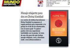 """El Mundo Deportivo recomienda el pack """"Te Quiero"""" para este San Valentin"""