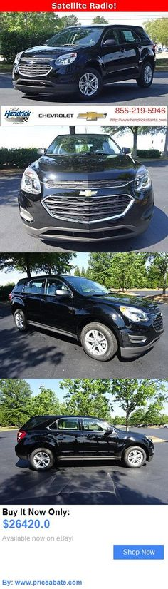 SUVs: Chevrolet: Equinox Fwd 4Dr Ls Fwd 4Dr Ls New Suv Automatic Black BUY IT NOW ONLY: $26420.0 #priceabateSUVs OR #priceabate