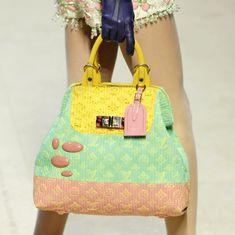 Pastel Louis Vuitton bag!