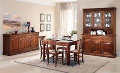 Trasforma il tuo soggiorno in un ambiente accogliente e invidiabile con Dahlia in effetto tinto noce.