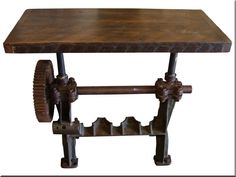 Loft asztal Industrial Loft, Industrial Design, Loft Design, Country Chic, Wabi Sabi, Rustic Furniture, Entryway Tables, Shabby Chic, Dining Table