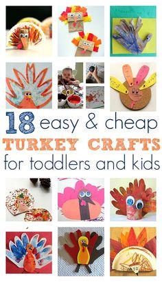Easy Turkey Crafts F