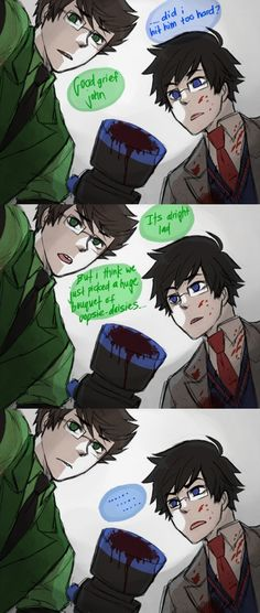 funny homestuck | Tags: Anime, Fanart, Homestuck, John Egbert, Tumblr