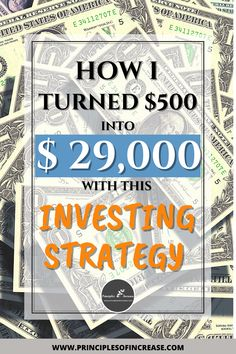 A DIY investing strategy that really works? YES! You can invest your own money without the help of an advisor. This DIY investing strategy can work for anyone willing to take the time and energy to learn how to grow their finances. I'll show you how to do it. #Investing #DebtFree #SaveMoney #DIY via: @increaselaws Cash Money, Earn More Money, Earn Money Online, Money Hacks, Money Tips, Money Saving Tips, Student Loan Help, Paying Off Student Loans, Investing In Stocks