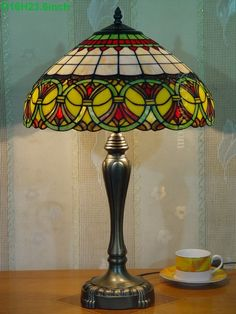 Baroque Tiffany Lamp16S6-35T246