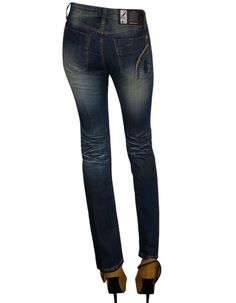 Brown Wash Premium Denim by Maxime Cossoguy