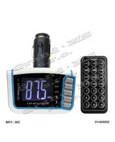 Transmitter - prehrávač súborov v automobile, inštalácia bez montáže. Shops, Digital Alarm Clock, Ale, Automobile, Tents, Ale Beer, Motor Car, Retail, Autos