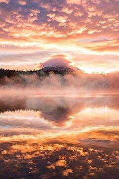 Sunrise at Elk Lake aroundq